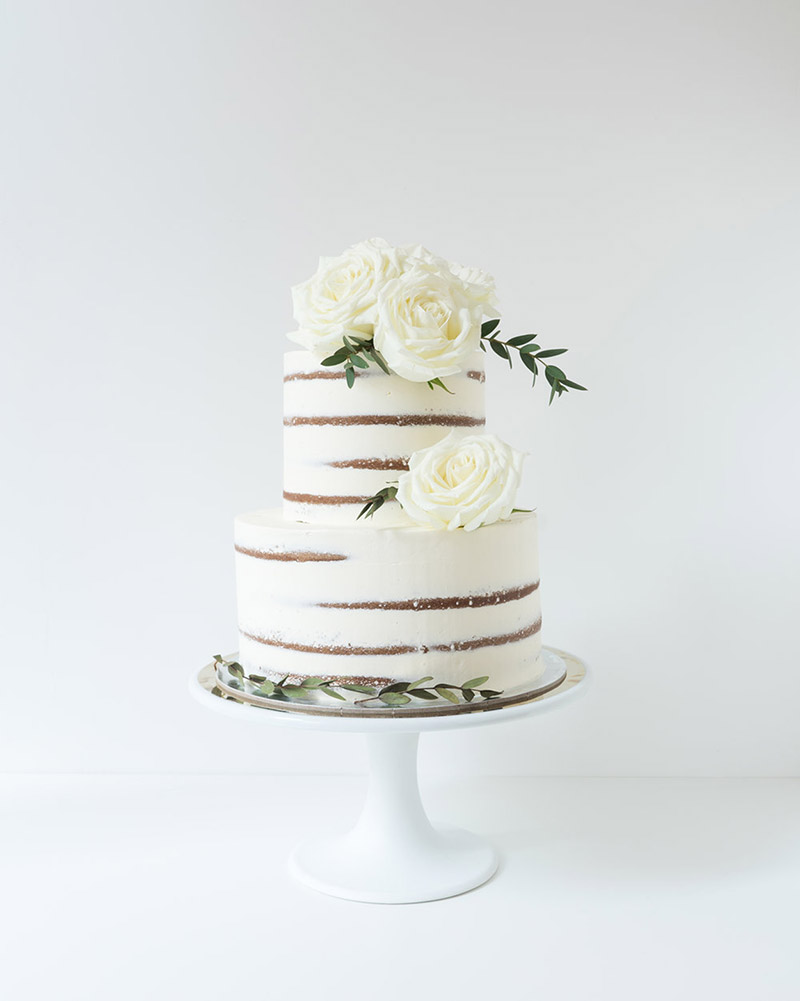6 Naked Cakes For 6 Different Types of Weddings - Asia Wedding Network