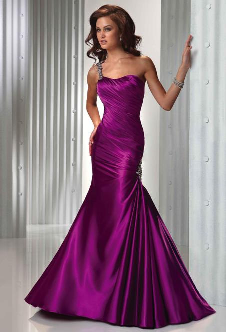 Evgen Fashion Blog Purple Wedding Dress