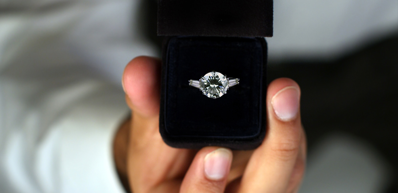 Engagement Ring = How Many Month's Salary?