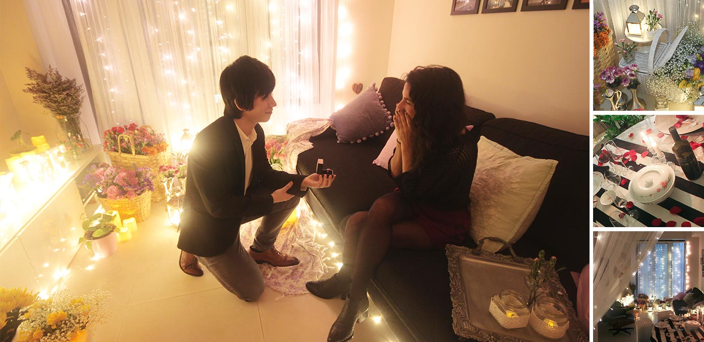 Lee and Manuela's Homely Proposal