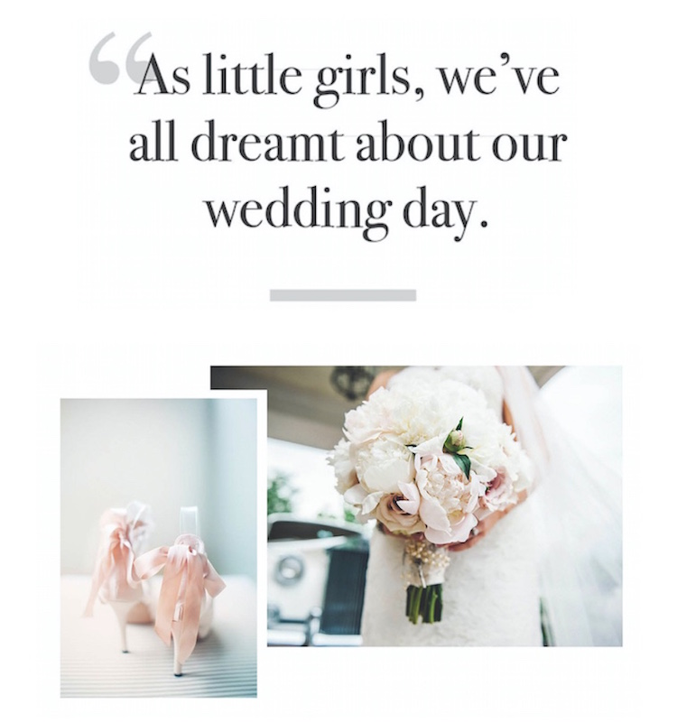 Dream about our wedding day