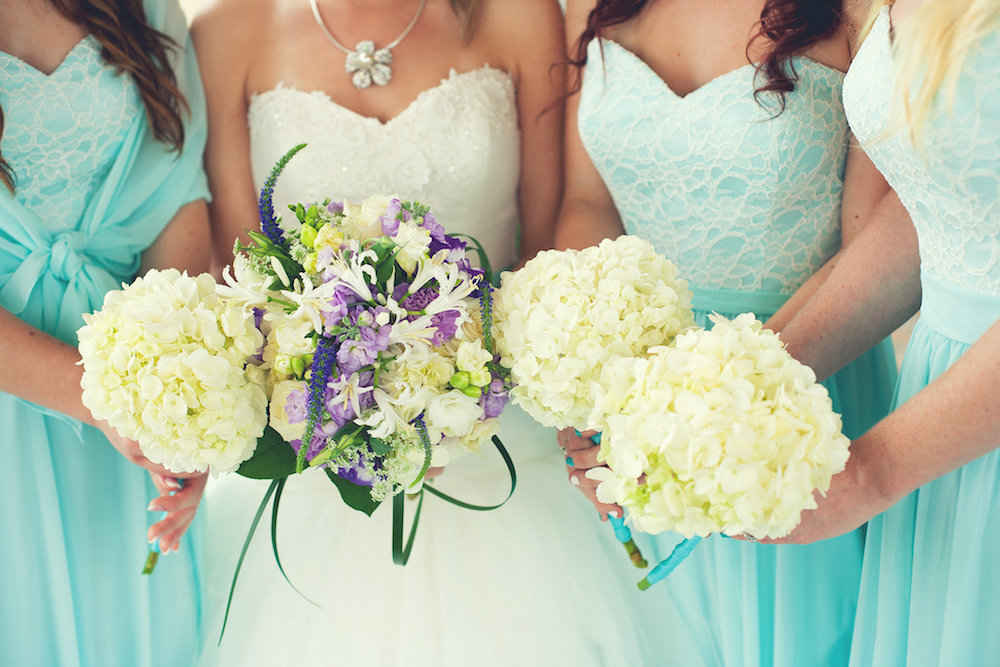 Colorful wedding themes