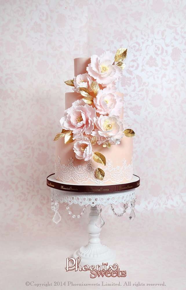 tiffshen-Interesting wedding cake-4