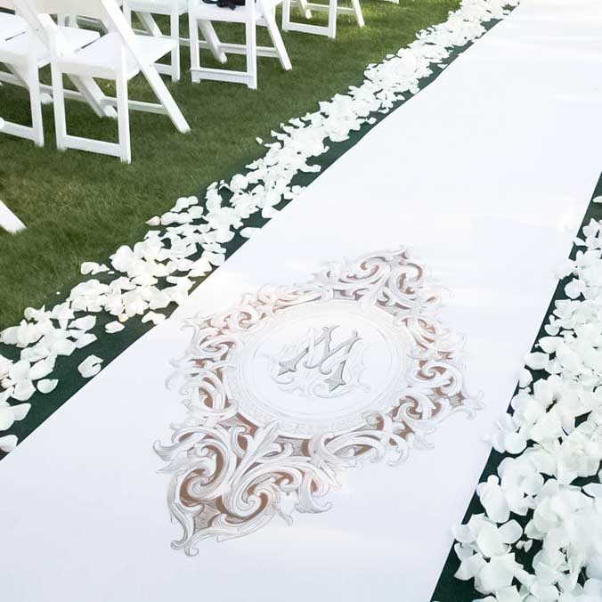 Wedding Monograms: 9 Things You Can Monogram Without Overdoing it