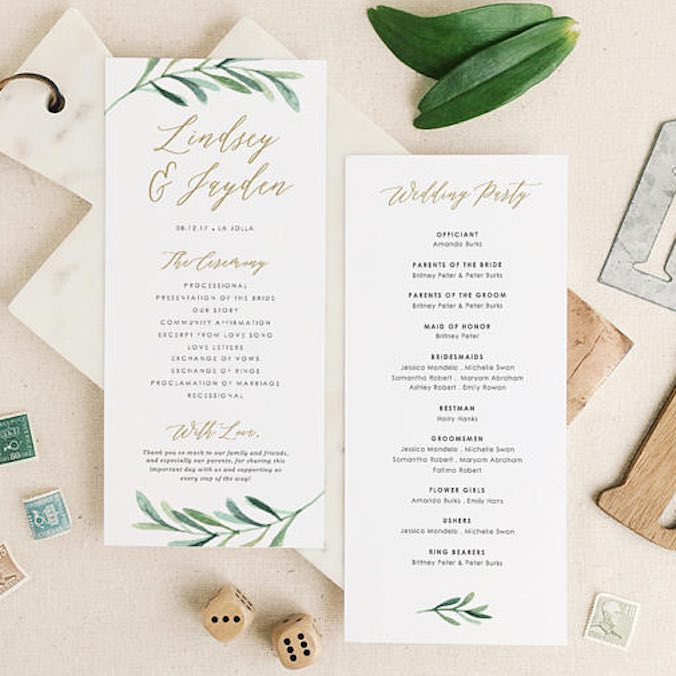 21 Tiny Wedding Details That'll Make a Big Difference to Your Guests