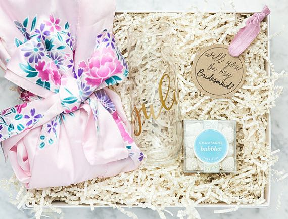 25 Shoppable Things To Put In A Will You Be My Bridesmaid Gift