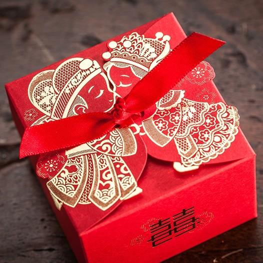 chinese wedding candy chocolate favors boxes 3