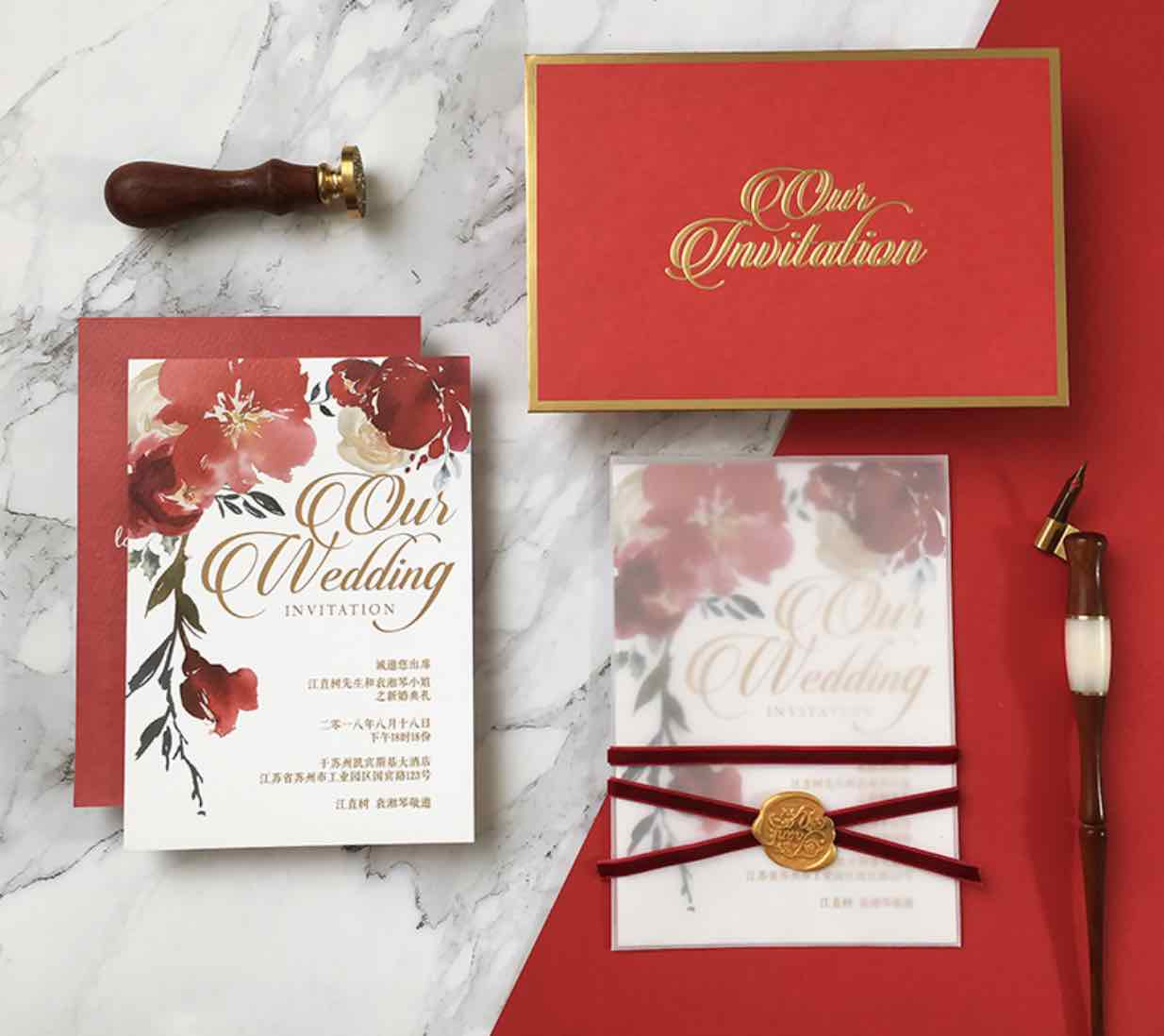 Must-Know Etiquette on Preparing Your Chinese Wedding Invitations ...