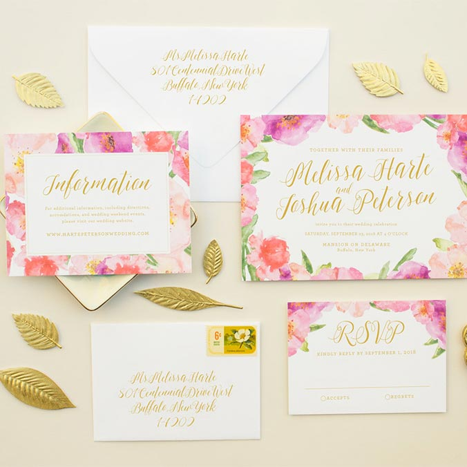 How to Create a Proper Set of Invitations & Paper Goods for Your Wedding