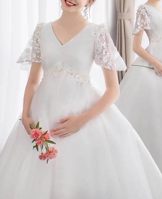 Maternity Wedding Dresses  7