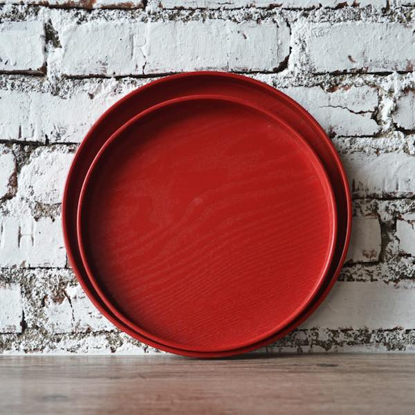 red chinese engagement tea ceremony tray