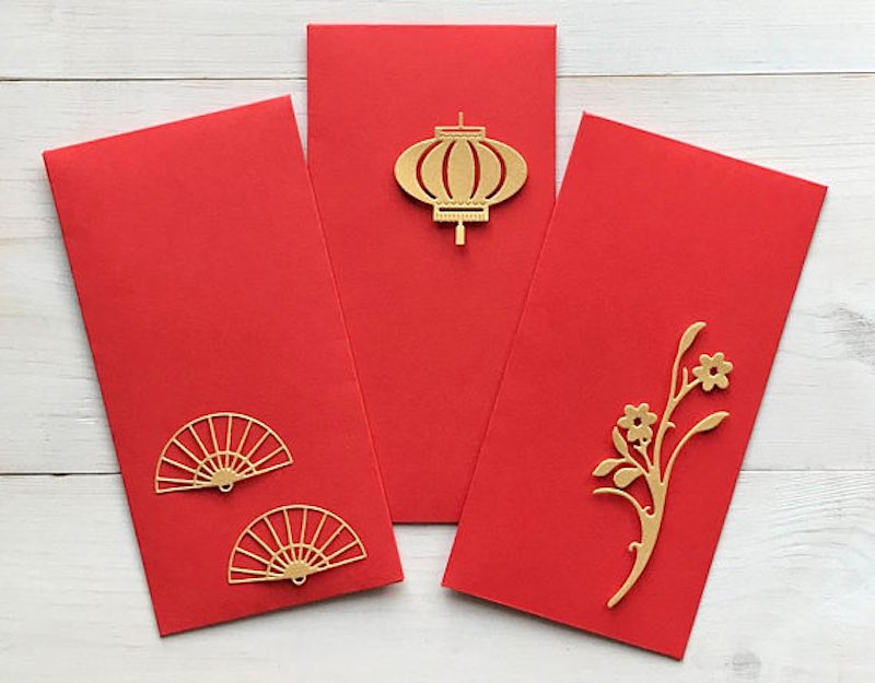 what to write red packet wedding