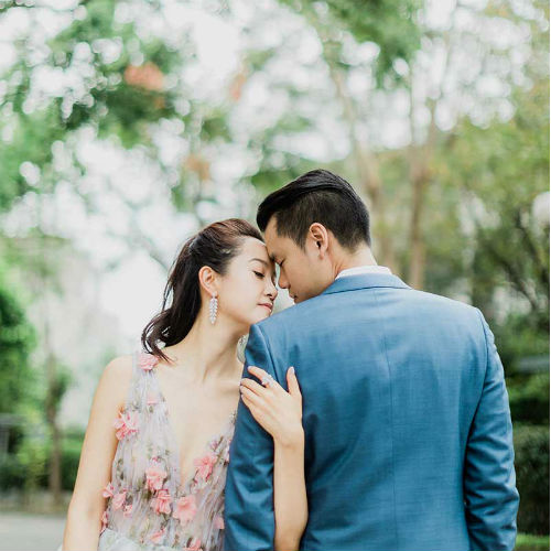 A Prewedding Styled Shoot That Featured All of Taipei's Natural Beauty