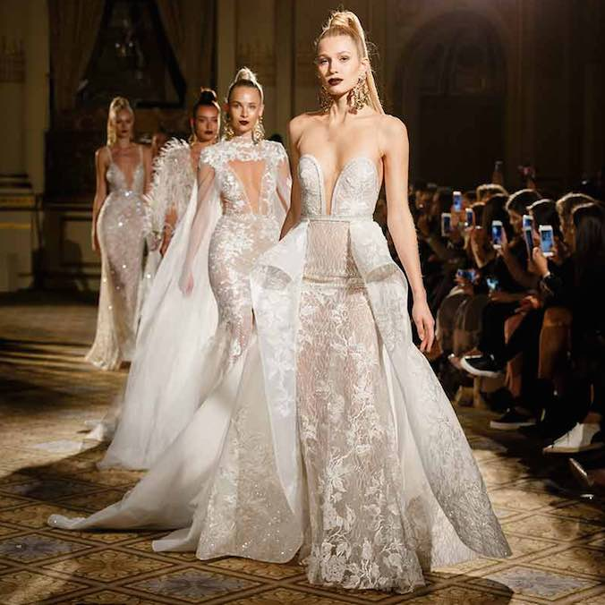 Come Find Shimmer and Glam at Berta Bridal's Spring/Summer 2018 Runway Show