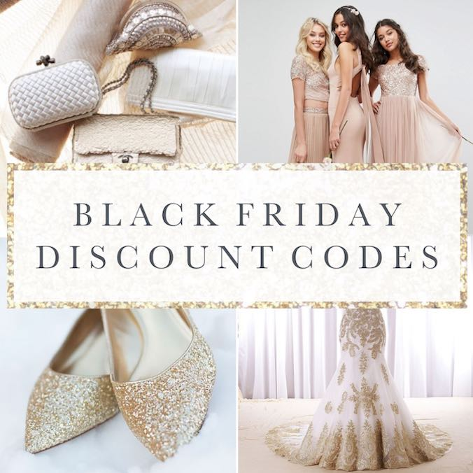 Black Friday Wedding Deals - Every Online Sale & Discount Code You Need to Know in 2017