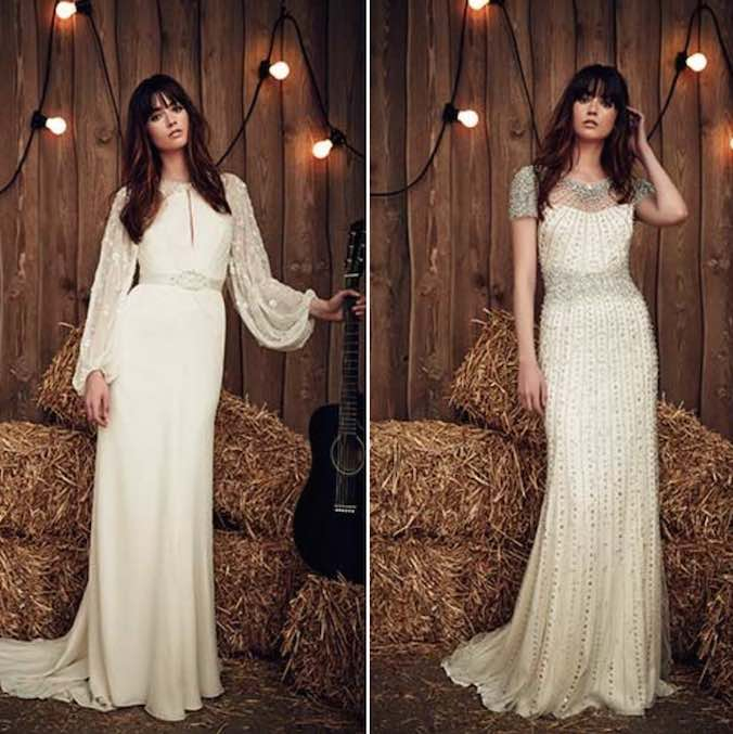 Show Off Your Inner Wanderlust, Gypsy Spirit with Jenny Packham's 2017 Bridal Collection