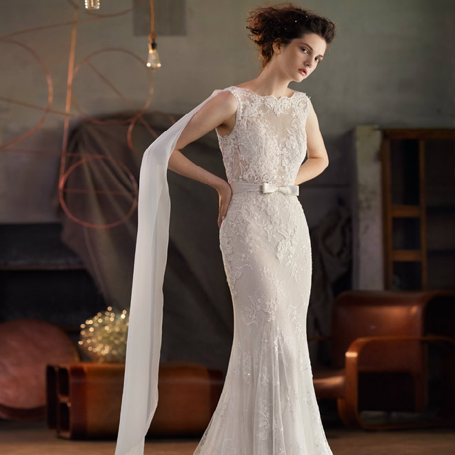 Light & Airy Wedding Dresses in the Lusan Mandongus 2018 Bridal Gown Collection