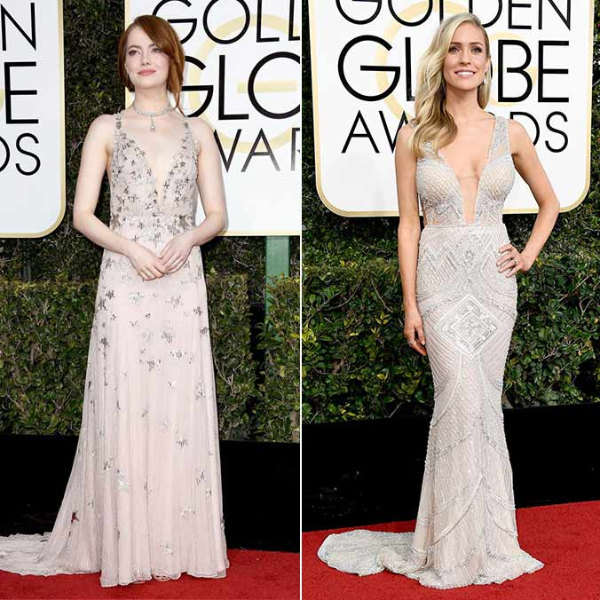 11 Stunning Bridal Dress Inspirations from the 2017 Golden Globe Awards