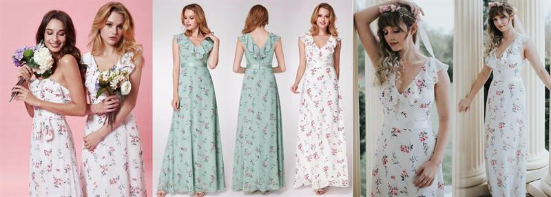 what to do bridesmaids dress overseas abroad out of town 2