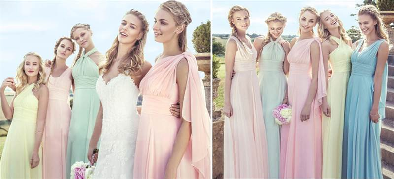 what to do bridesmaids dress overseas abroad out of town 4