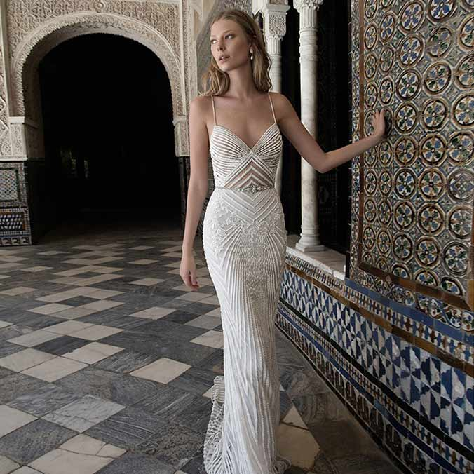 Alon Livné White 2017 Spanish Art Nouveau-inspired Collection for the Romantic Bride
