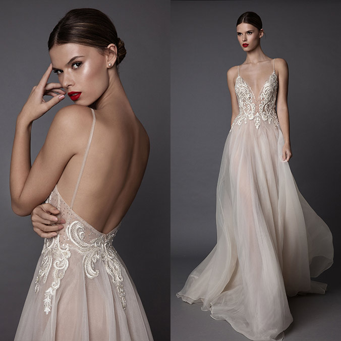 BERTA Launches Gorgeous New Bridal Line Called MUSE by Berta