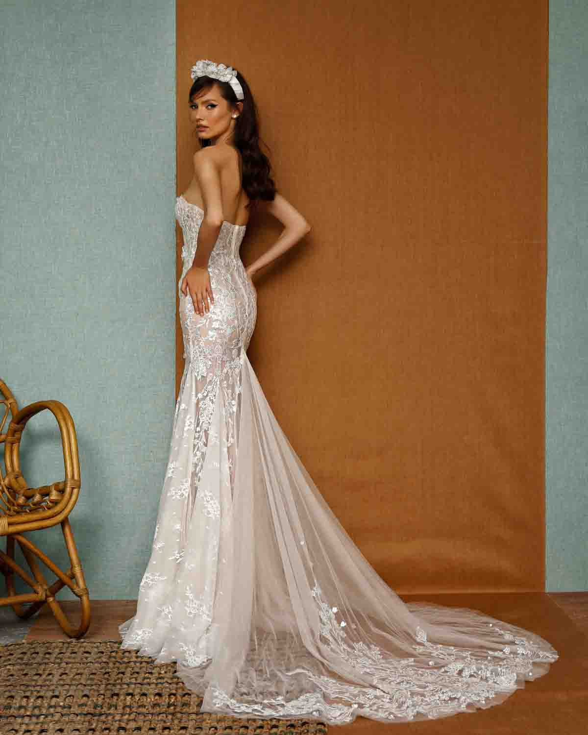 BERTA PRIVÉE SS 2021 Wedding Dress Collection 11