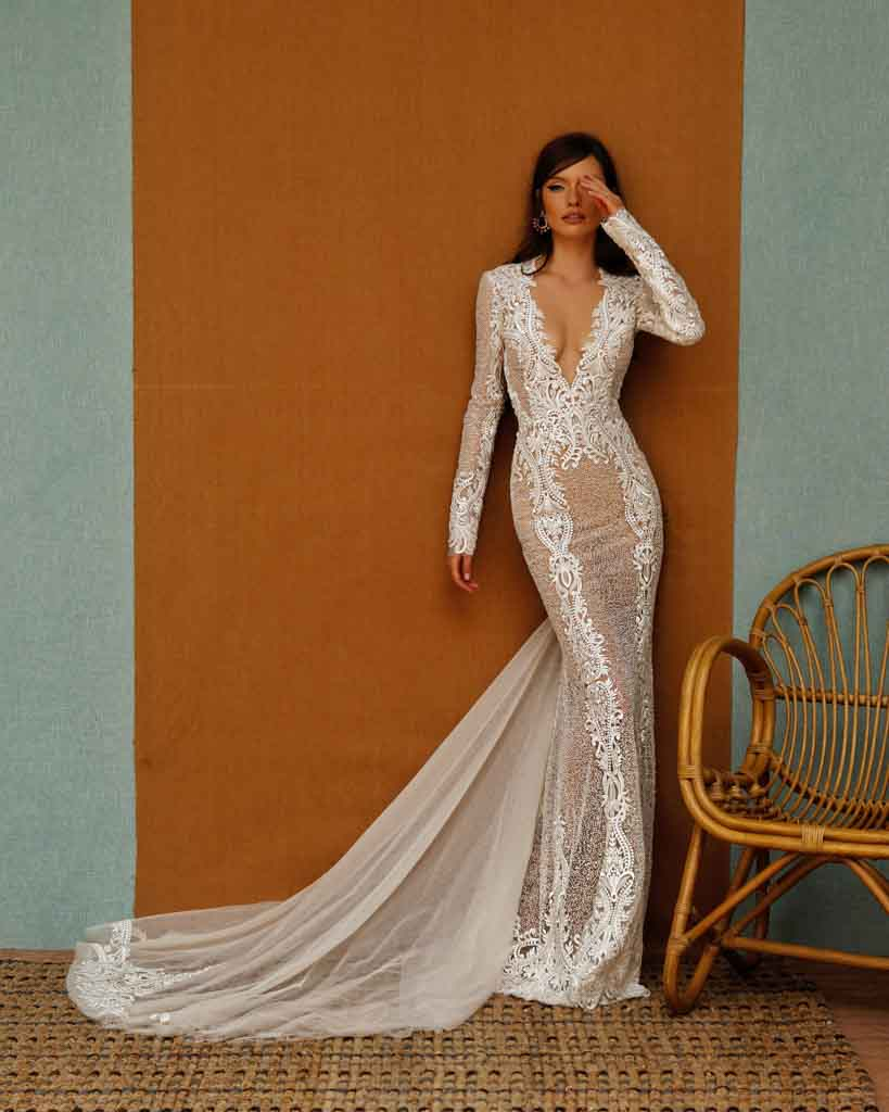 BERTA PRIVÉE SS 2021 Wedding Dress Collection 26