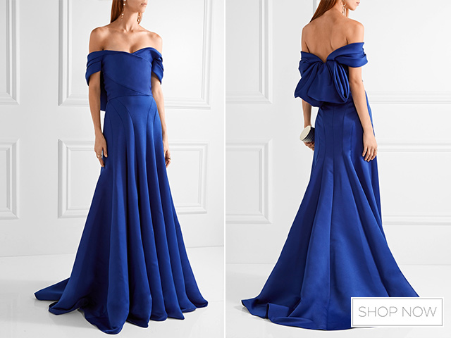 Wedding Guest Outfits For A Black Tie Full Length Ball Gown 49