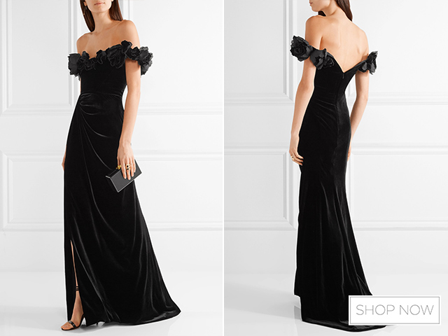 6 wedding guest outfits for a black tie wedding asia for Black guest wedding dresses