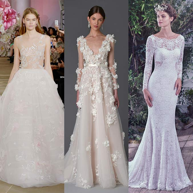 6 Biggest Bridal Fashion Trends We're Predicting for New York International Bridal Week 2016