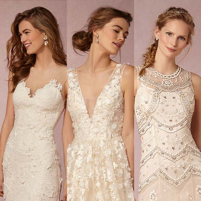 Which 9 of These Bridal Hairstyles Match Your Wedding Dress Neckline?