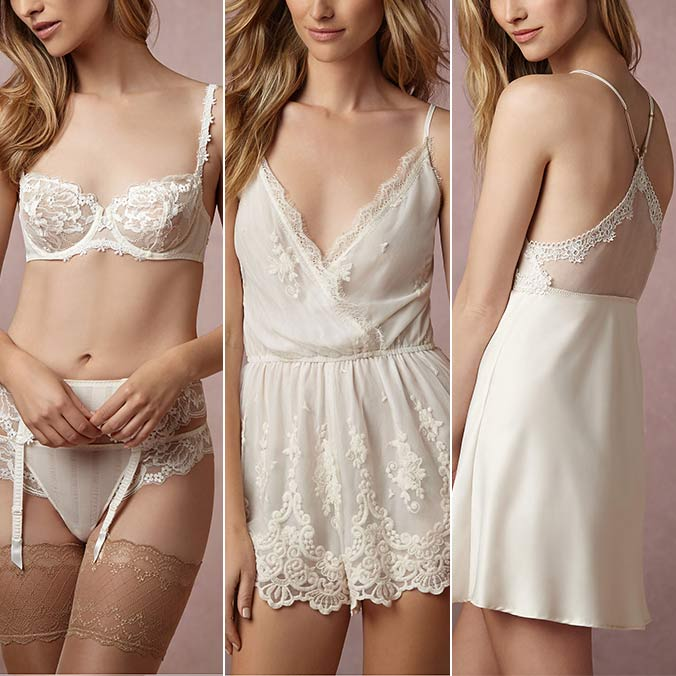 7 Bridal Lingerie Pieces Your Future Husband Won't Be Able to Resist