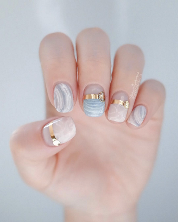 Bridal Nail Designs Nail Art Wedding Nails Bridal Manicure 5