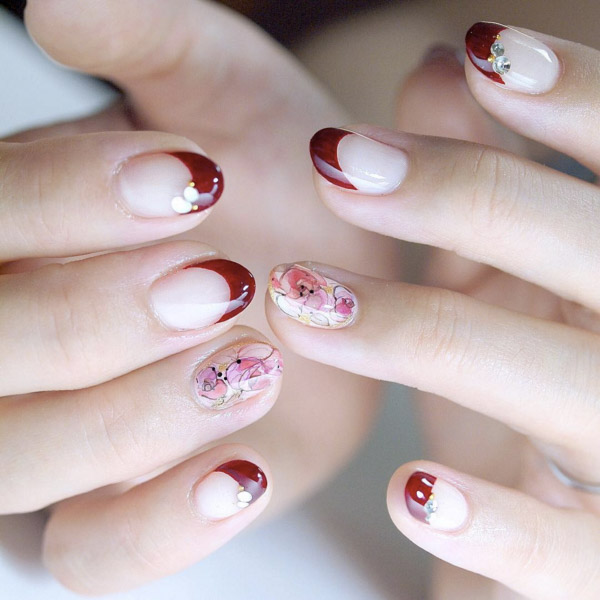 Bridal Nail Designs Nail Art Wedding Nails Bridal Manicure 7