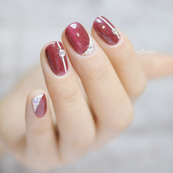 Bridal Nail Designs Nail Art Wedding Nails Bridal Manicure 9