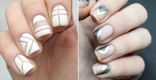 must try bridal nail trends 2016 negative space