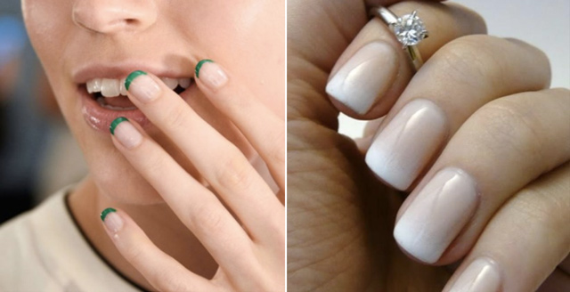 must try bridal nail trends 2016 new french manicure