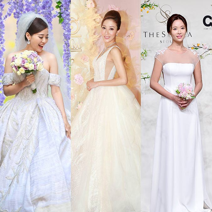 11 Celebrity Wedding Dresses We Fell in Love with During 2016