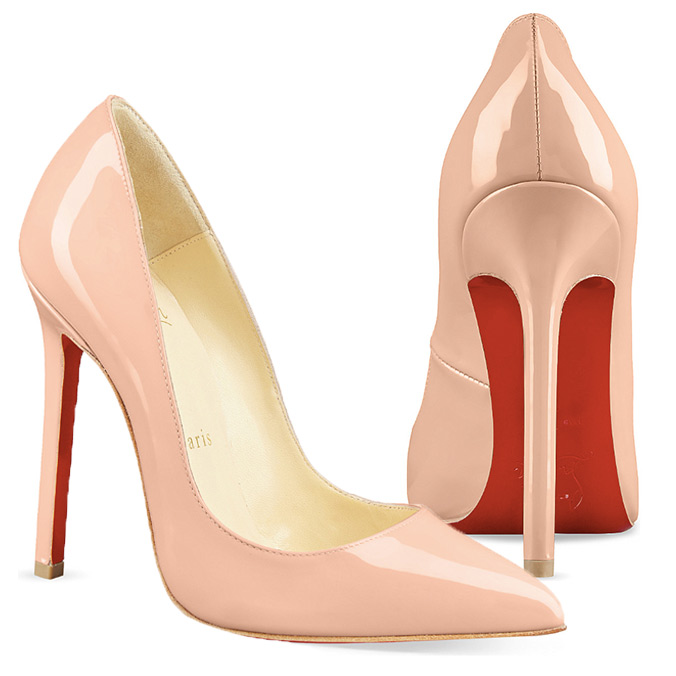 Christian Louboutin: Nude Shoes for Every Bride