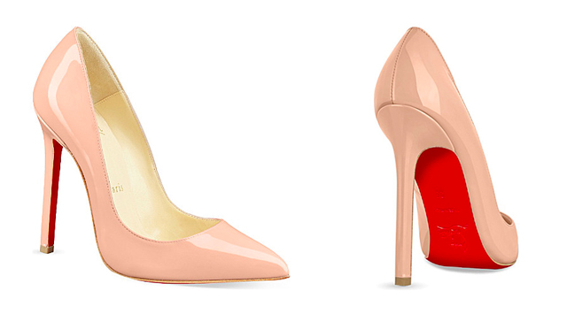 Christian Louboutin: Nude Shoes for