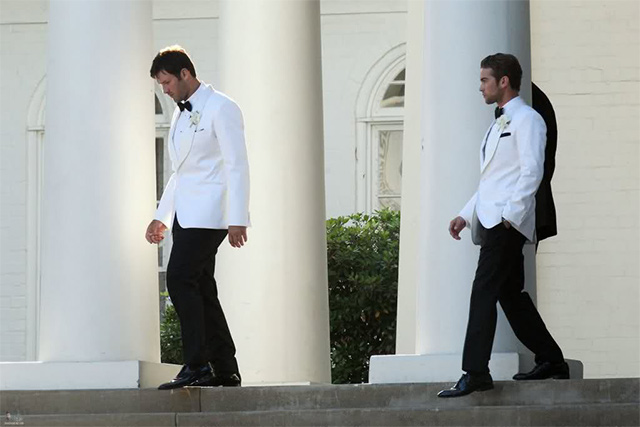 Hollywood Celebrity Groomsmen Styles to Look up to 1