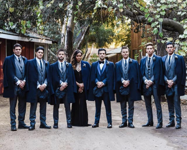 Hollywood Celebrity Groomsmen Styles to Look up to 10