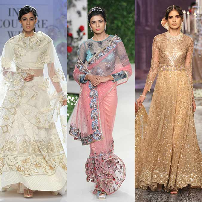 Top 5 Bridal Wear Collections From India Couture Week 2016