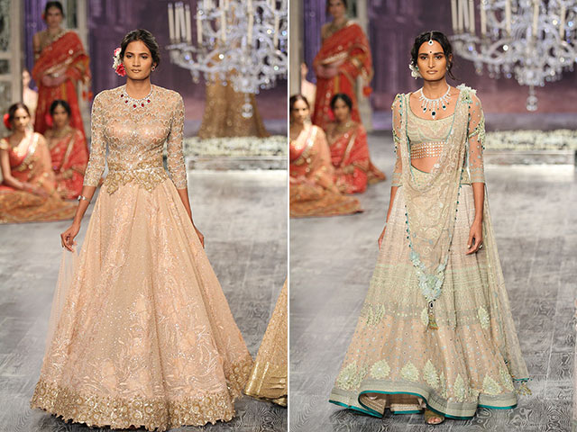India Couture Week Bridal Collection Gowns By Tarun Tahiliani 6