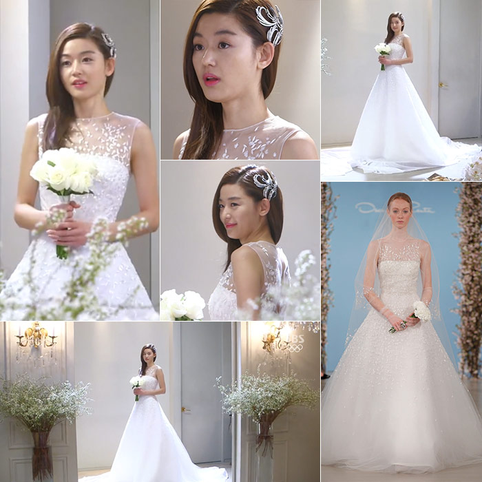 Wedding Gown Korean Style: K-Drama Wedding Dresses: 10 Gorgeous Korean Wedding Looks