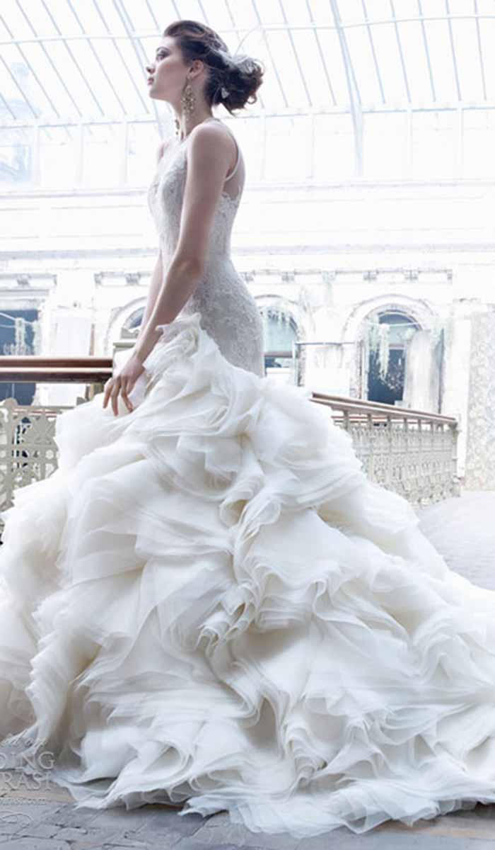Loving Lazaro Wedding Dresses: A Truly Perfect Mix of Timeless ...