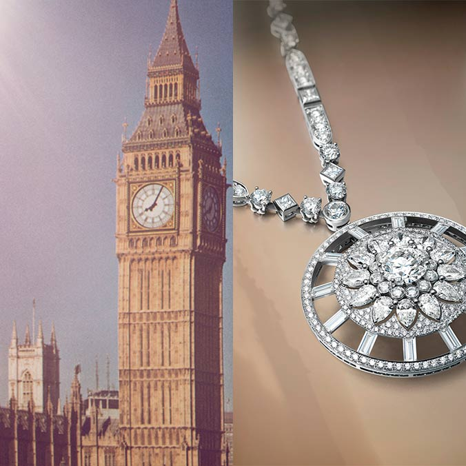 The New 'London' By De Beers Collection Creates a Timeless Wedding Day Look