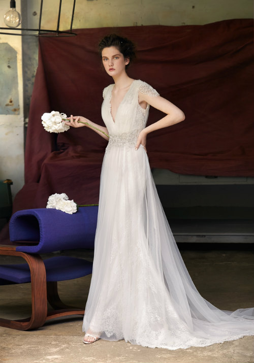 Light & Airy Wedding Dresses in the Lusan Mandongus 2018 Bridal Gown ...