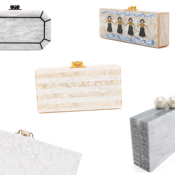 6 Marble Bridesmaid Bridal Clutches for the Stylish Bridesmaid